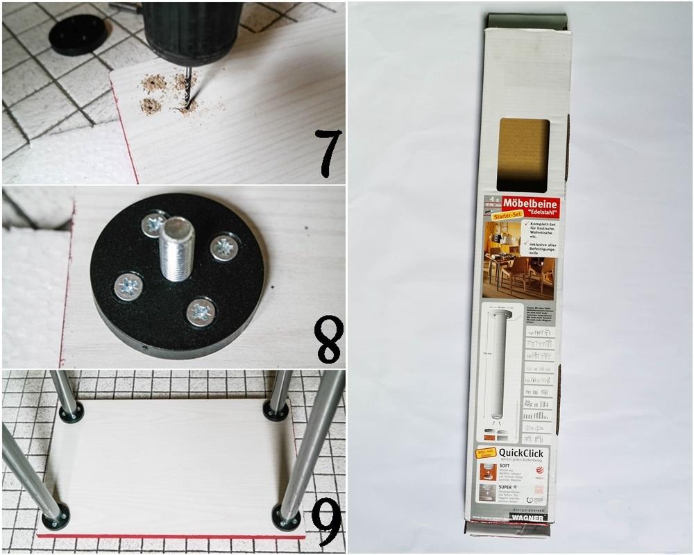 DIY Beistelltisch Holz, DIY Holz, bauen, DIY Möbel, Vara-Kreativa, DIY Tisch