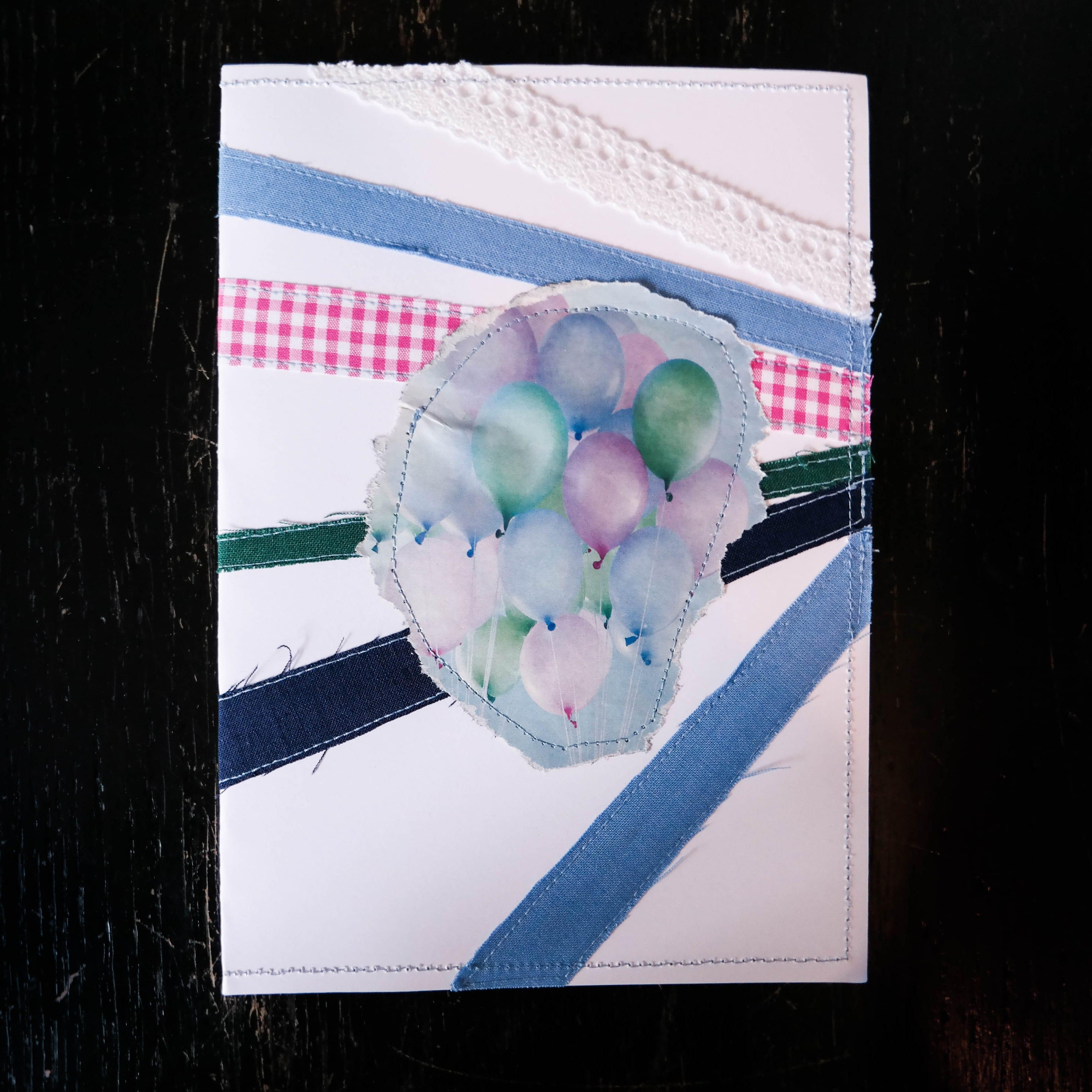 DIY Geburtstagskarte, DIY Geschenke, DIY Karte, DIY nähen. Vara-Kreativa