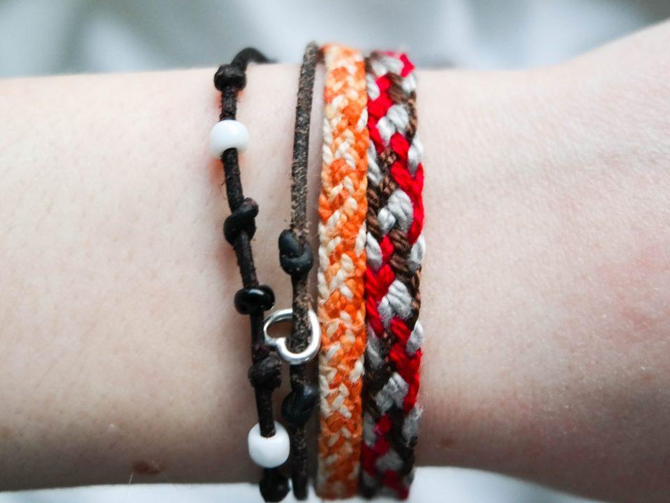 Geflochtenes Armband Vara-Kreativa