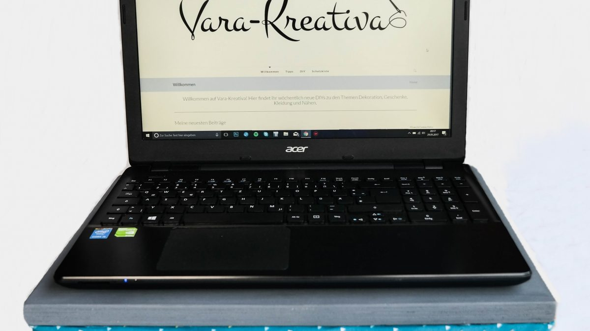DIY Laptoptablett, DIY Laptopunterlage, selbermachen, nähen, basteln, Vara-Kreativa, DIY Büro, DIY Wohnen, DIY Geschenke